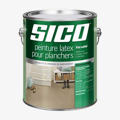 peinture Sico pour planchers d'intérieur et extérieur en bois et béton