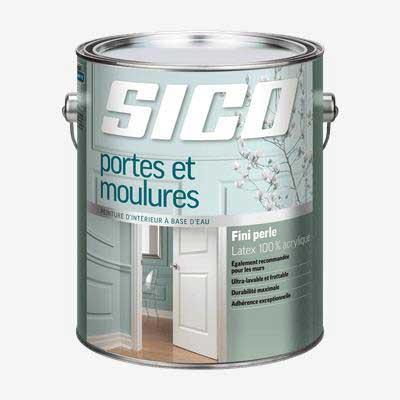peinture Sico pour portes et moulures